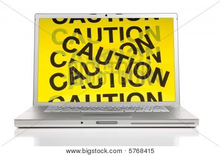 Computer Dangers Concept