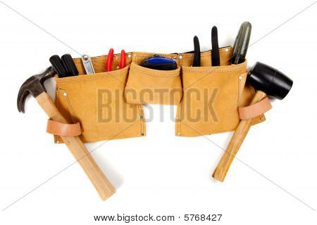 Toolbelt With Tools