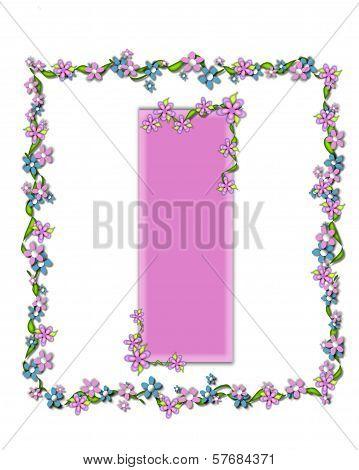 Alphabet Daisy Fair Pink I