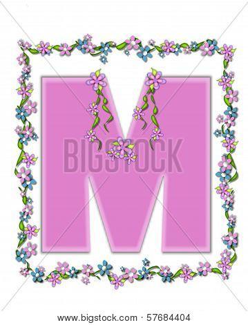 Alphabet Daisy Fair Pink M