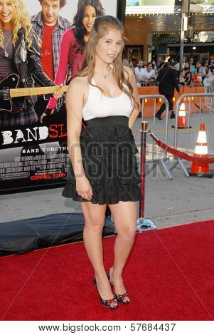 Katelyn Pippy at the Los Angeles Premiere of 'Bandslam'. Mann Village Theatre, Westwood, CA. 08-06-09