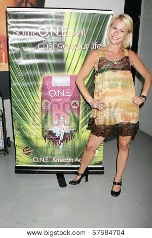 Lucy Rendler-Kaplan at the Reality Cares Leap Foundation Benefit. Sunstyle Tanning Studio, West Hollywood, CA. 08-06-09