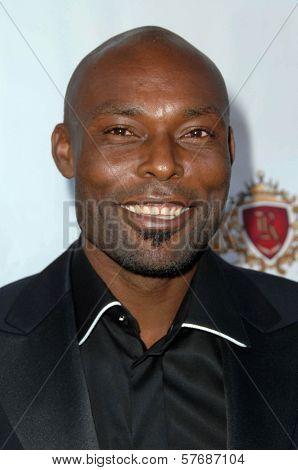 Jimmy Jean-Louis at the Hollyshorts Haiti Charity VIP Webisode Celebration. Kress, Hollywood, CA. 08-08-09