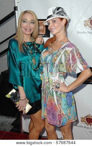 Lorielle New and Phoebe Price  at the Hollyshorts Haiti Charity VIP Webisode Celebration. Kress, Hollywood, CA. 08-08-09