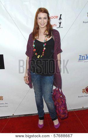 Felicia Day  at the Hollyshorts Haiti Charity VIP Webisode Celebration. Kress, Hollywood, CA. 08-08-09