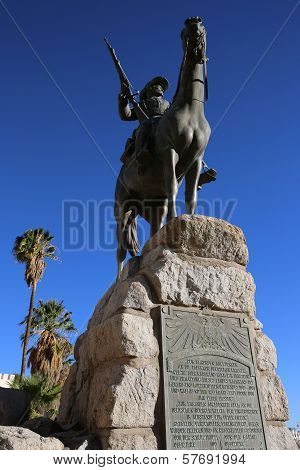 Equestrian Monument - German Rider