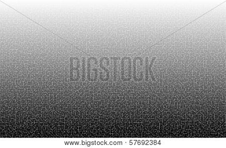 White To Black Tiled Texture