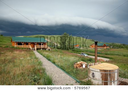 Waterton Lakes Storm