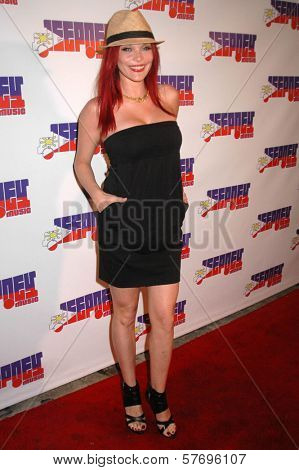 Carmit Bachar at the Jeepney Music Launch Party. ECCO, Hollywood, CA. 08-11-09