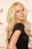 Lindsay Lohan at the Rock The Kasbah Gala to benefit Virgin Unite and the Eve Branson Foundation. Vi