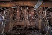 stock photo of furnace  - Urbex  - JPG