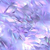 stock photo of refraction  - Seamless crystal texture  - JPG