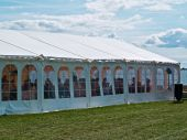 foto of canopy roof  - Seaside party events wedding celebration banquet tent - JPG