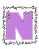 picture of letter n  - The letter N - JPG