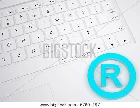 Trademark symbol on the keyboard