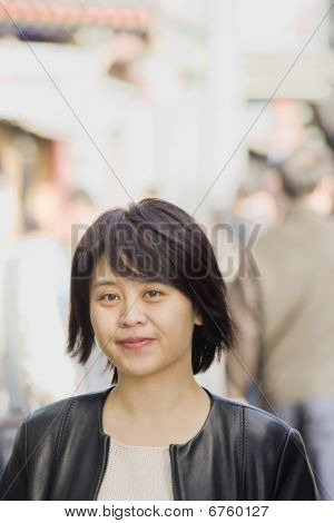 Young Woman Outside
