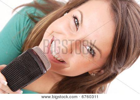 trendige Sänger