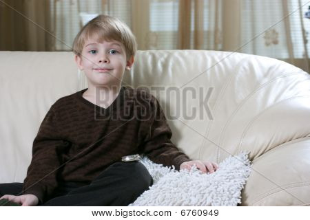 Boy On The Sofa