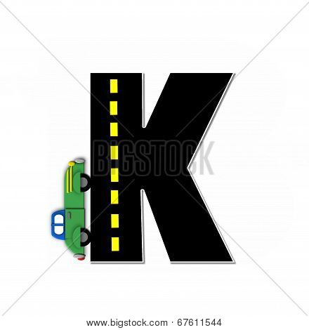 Alphabet Transportation By Road K