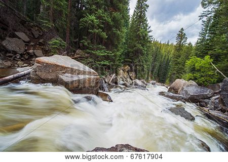Rushing Mountain River