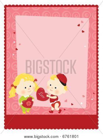 8.5x11 Valentines Template
