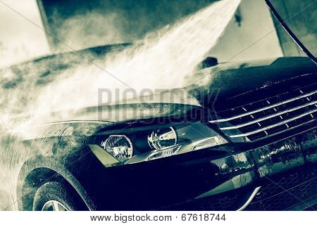High Pressure Water Car Wash