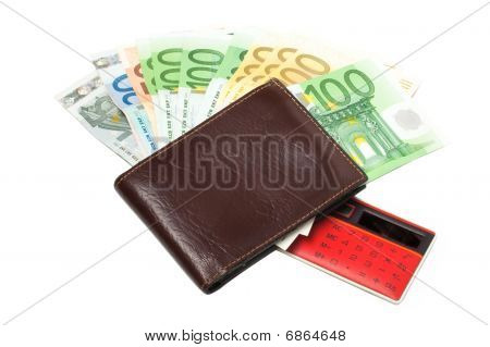 Wallet With Euro