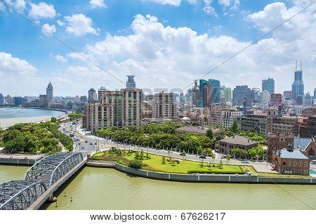 Cityscape Of Shanghai The Bund