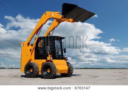 Skid-Steer-Ladeprogramm-bulldozer