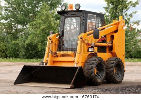 Skid Steer Loader Bulldozer