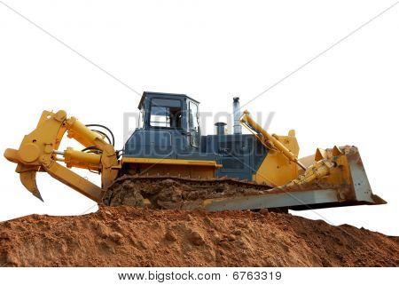Heavy Bulldozer With Ripper
