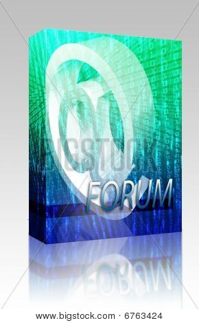 Online Forum Box Package