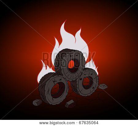 Blazing Tires