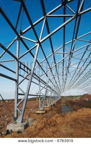 Metallkonstruktion framework