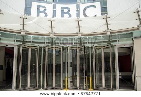 BBC Entrance, Central London