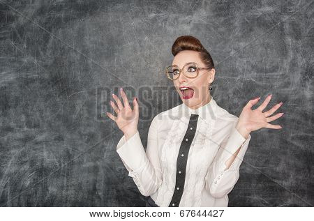 Scared Teacher