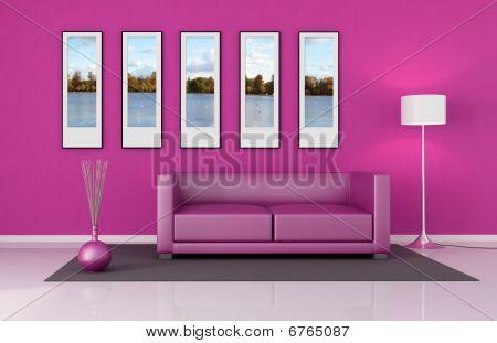 Salão rosa