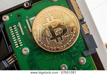 Bitcoin Over Fast Computer Hard Disk Drive
