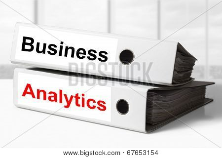 stack office binders business analytics
