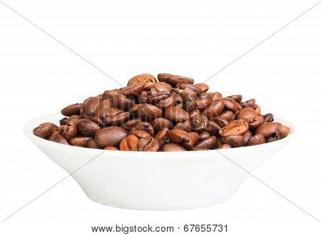 Roasted Black Coffee Beans