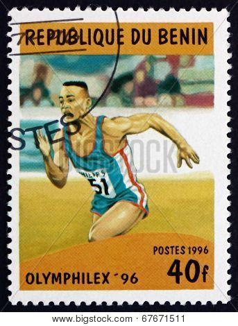Postage Stamp Benin 1996 Running, Sport