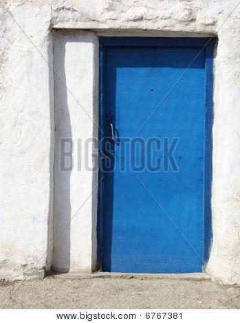 Door Of Old House In Crimea