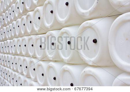 White Gallon Background Texture