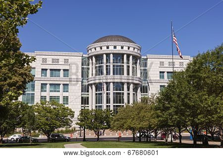 Courthouse in Salt Lake City, Utah