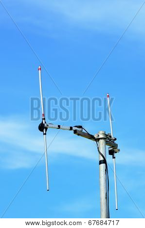 H shaped radio aerial