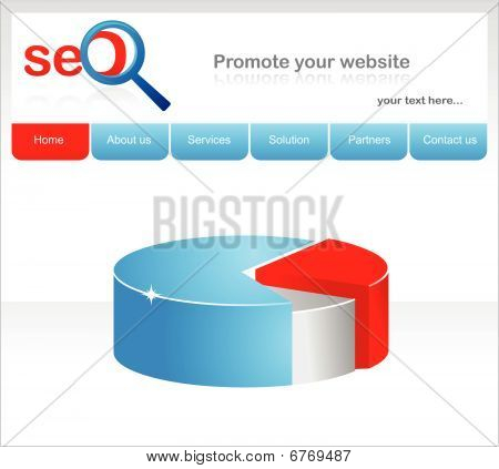 Design Of SEO Company Website