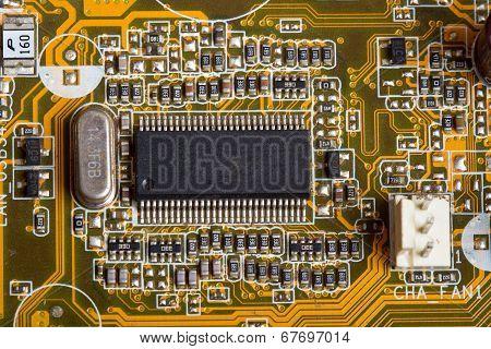 Digital Hardware Closeup