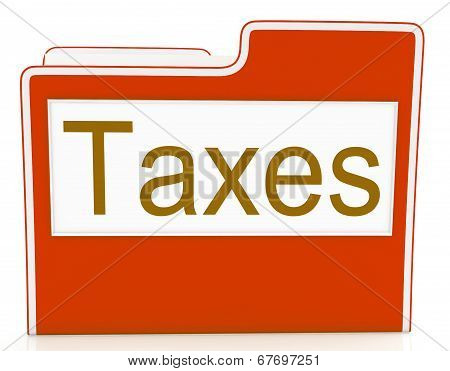Taxes File Represents Excise Irs And Organization