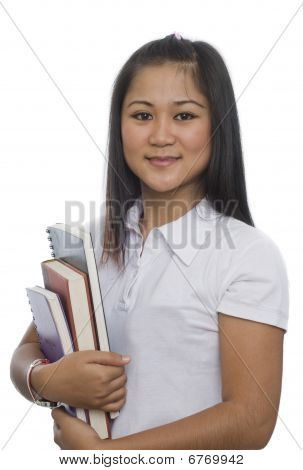 Student With Books 9