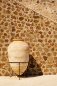 stock photo of ceuta  - clay jar - JPG